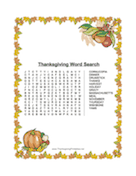 Leaves Word Search