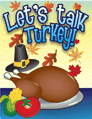 Talk Turkey Invitation Small