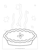 Whole Pie Coloring Page
